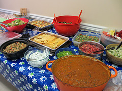 Eat Alberta Potluck used with permission by https://www.flickr.com/photos/mastermaq/]Mack Male, on Flickr