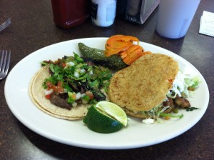 Mexican food (photo by Jaimie Newsome, 9/2014)