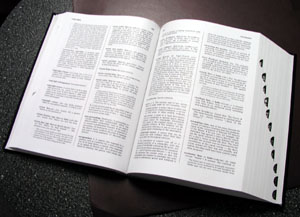 Dictionary (photo from Wikimedia Commons, 10/10/2014)