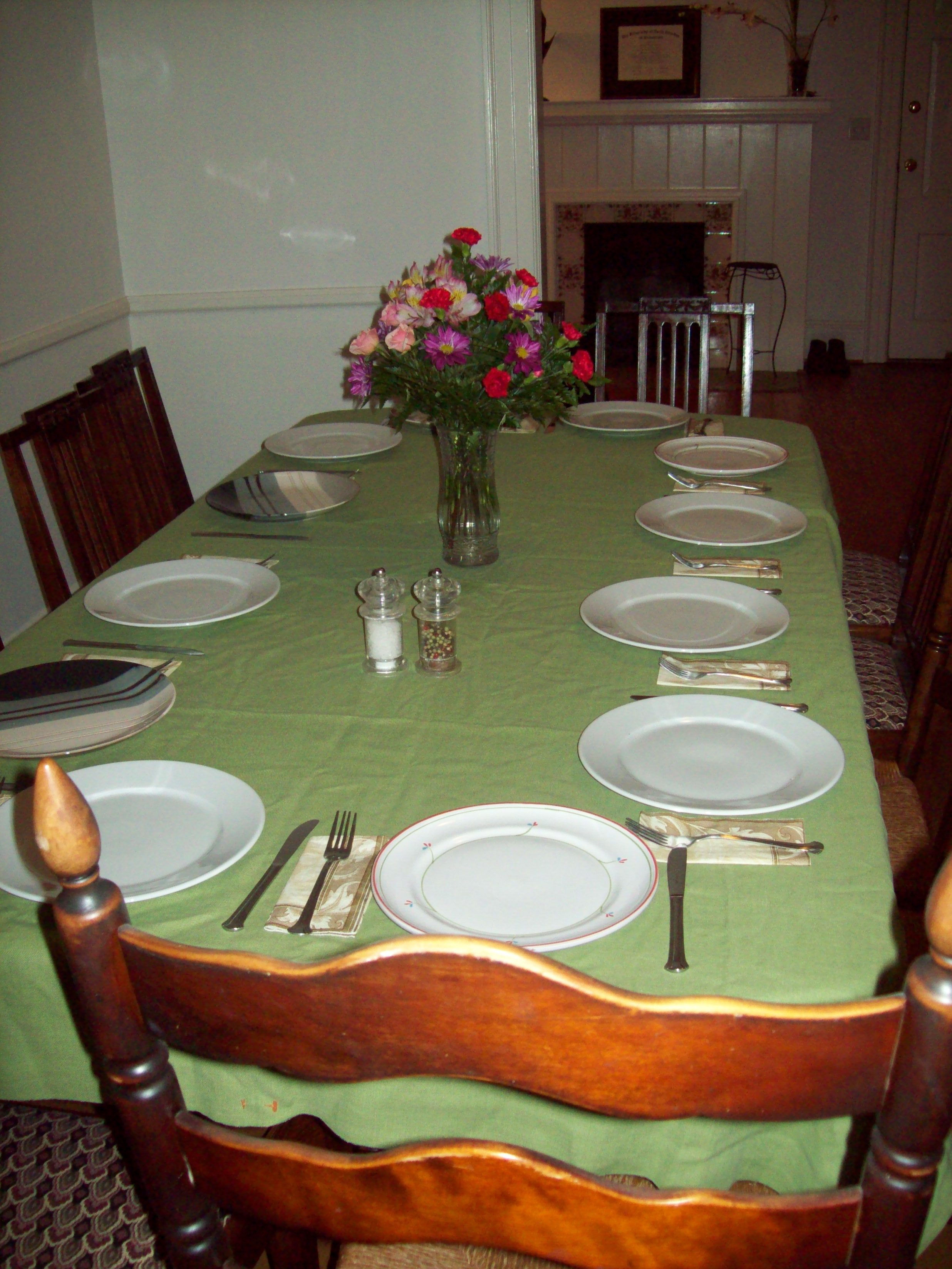 what do you enjoy doing english language setting the table is a chore photo by wt instructor jln what do you