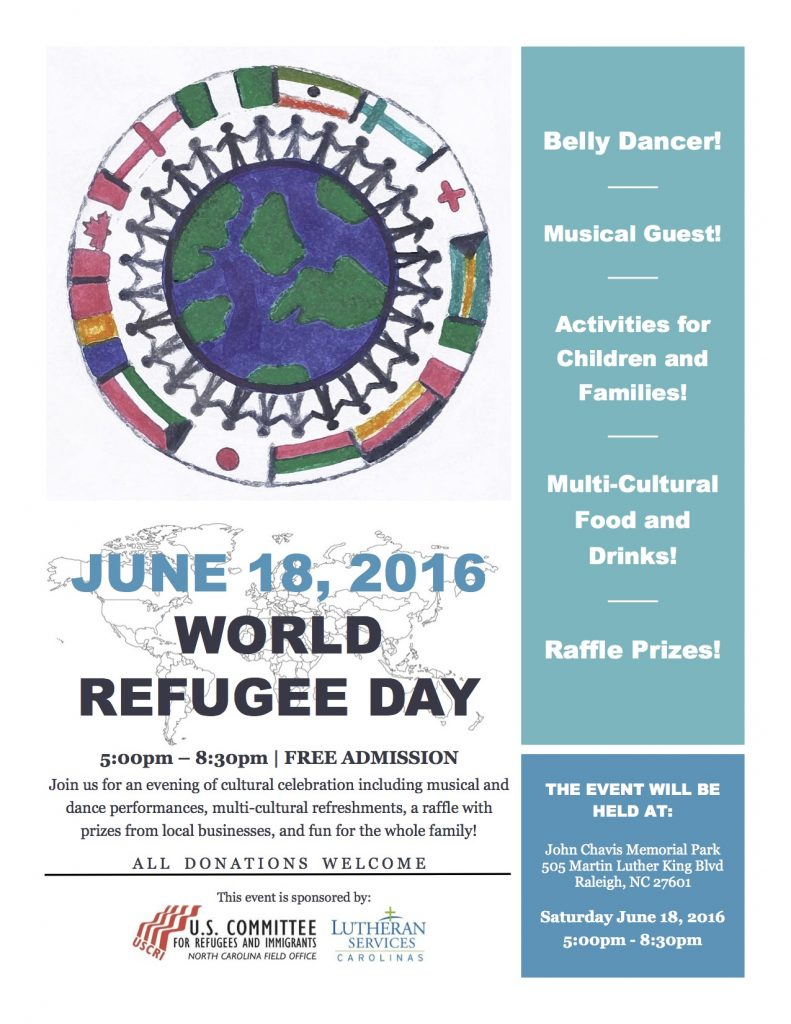 World Refugee Day - 2016