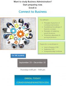 Connect to Business Fall 2020